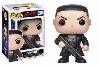 Funko Pop Punisher Daredevil Nuevo Original Marvel