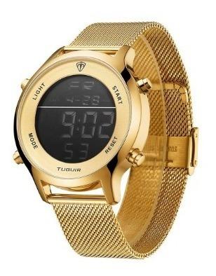 Relógio Unissex Digital Original Tuguir Tg101