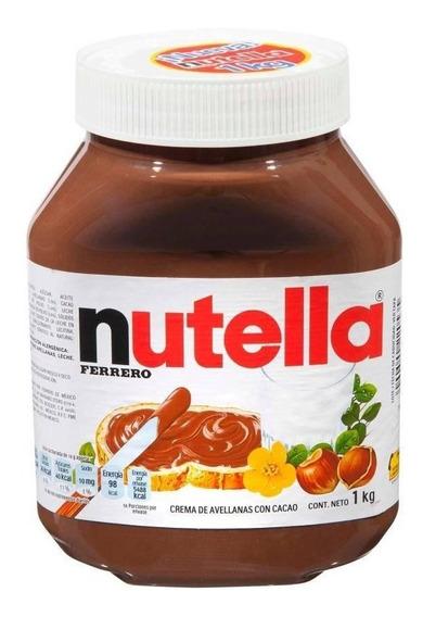 Crema De Avellana Ferrero Nutella De 1 Kg