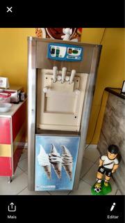 Máquina De Sorvete Expresso 220v (monofásica)