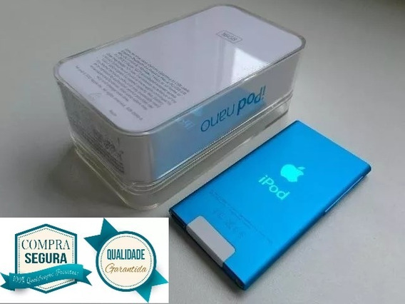 iPod Nano 7 Generation Blue Azul