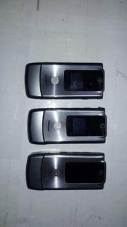 Lote De Celulares Motorola W510 3 Unidades Conserto Ou Peças