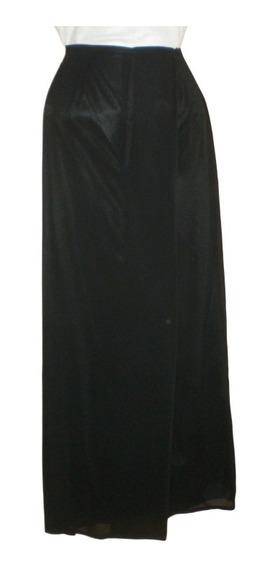 Falda Larga Americana Negro, Gasa, Fiesta, Marca Express