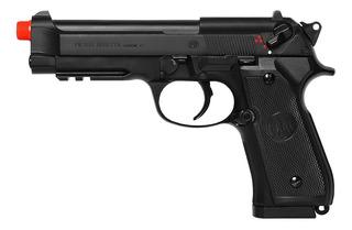 Pistola De Airsoft Elétrica Umarex Beretta 92 A1 Slide Metal