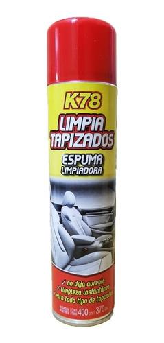 Espuma Limpia Tapizado En Aerosol K78 400cc