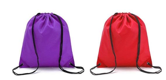 Bolsa Urmiss 2 Pieces Waterproof Gym Bag Large Drawstring