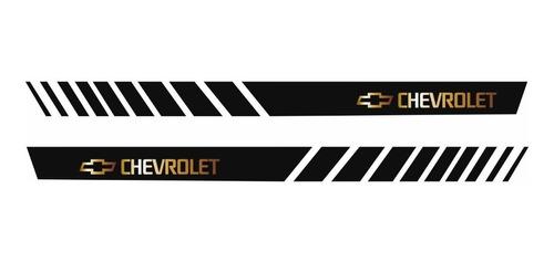 Adesivo Chevrolet Celta Faixa Lateral Personalizado Imp36