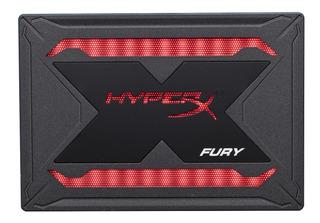 Disco Solido Ssd Kingston Hyperx Fury Rgb 240gb Gamer - Gpa