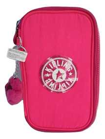 Kipling Lapicera Modelo 50 Pens Surfer Pink 100% Original