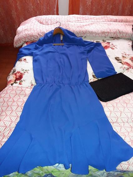 Vestido Azul Tam Gg