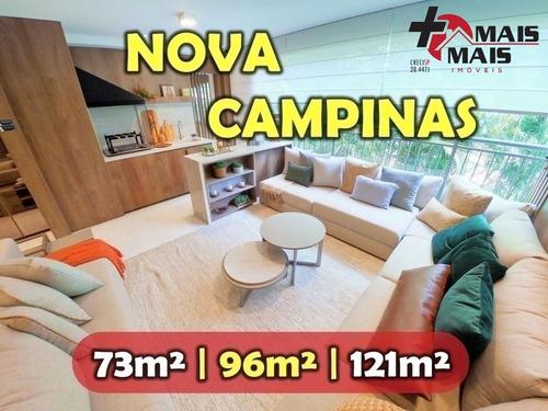 Imagem 1 de 13 de Nova Campinas 3 Dormitórios 2 Vagas 96m Grand Wish - Gw96a