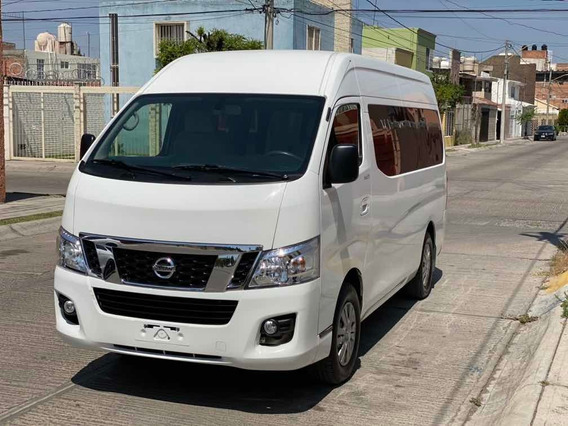Nissan Urvan 2.5 12 Pas Aa Pack Seguridad Mt 2017