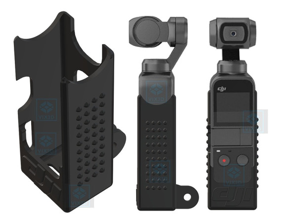 Suporte Case Dji Osmo Pocket P/ Adaptores Gopro Activetrack
