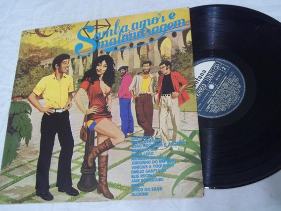 Vinil Lp - Samba Amor E Malandragem - Camisa Amarela
