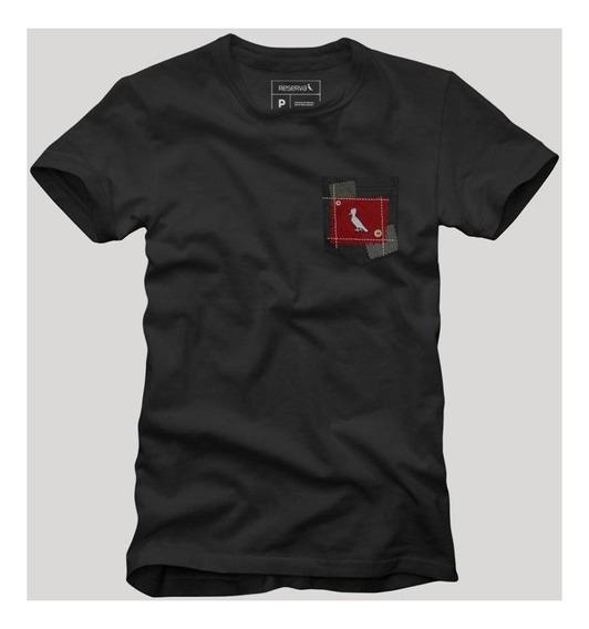 Camiseta Bolso Xadrez Retalho Reserva