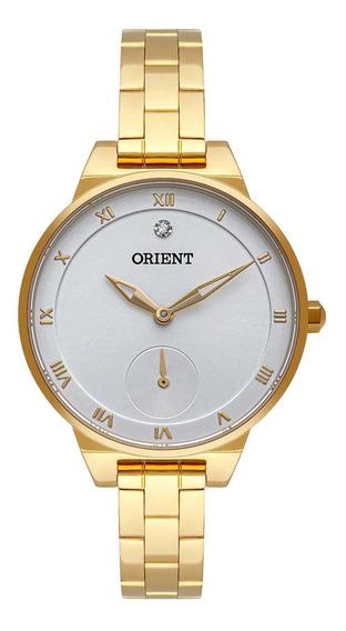 Relógio Orient Feminino Fgss0142 S3kx Dourado - Refinado
