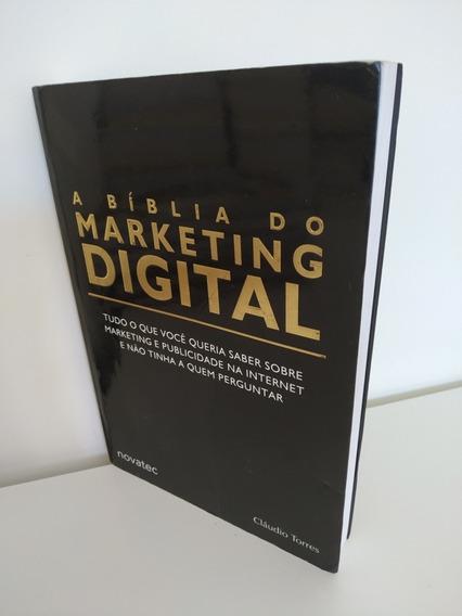 A Bíblia Do Marketing Digital De Claudio Torres Conservada