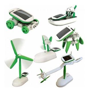 Robot Solar 6 En 1 Didactico Energia Solar Kit Solar