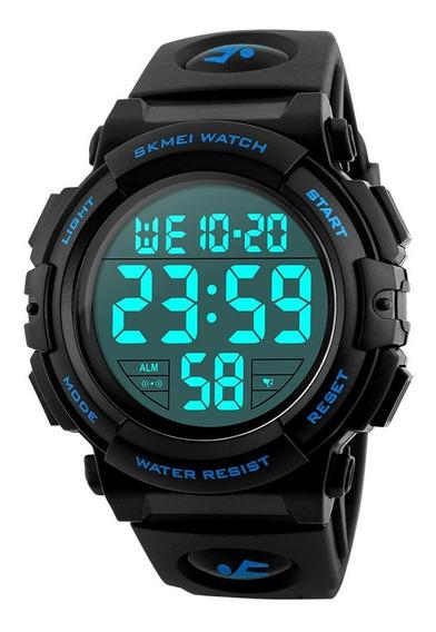 Skmei Homem Militar Relógio Sports Grande Cara Led Digital