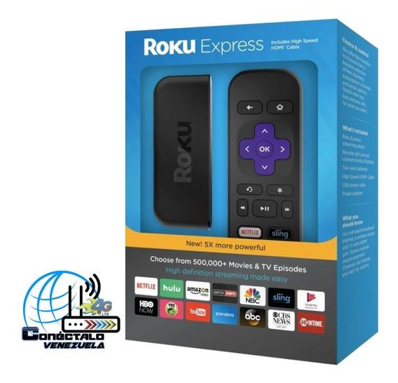 Roku Express - Convierte Tu Tv Clásica En Smart Tv