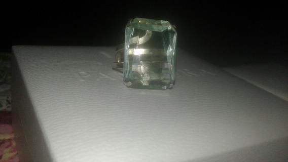Anel Obsidiana Verde Em Prata 925