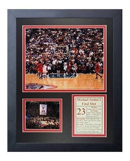 Las Leyendas Nunca Mueren Michael Jordan Final Shot Framed P