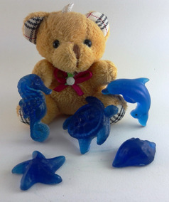 Lembrança Sabonete Animais Do Mar - 12 Unidades