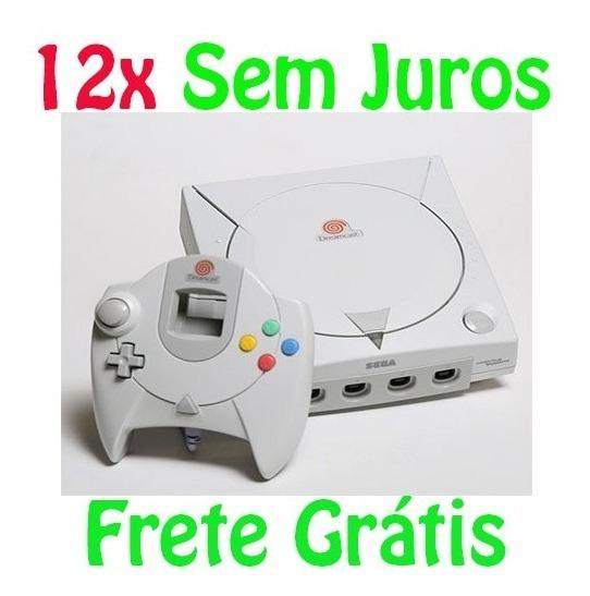 Dreamcast Com Caixa 7 Jogos