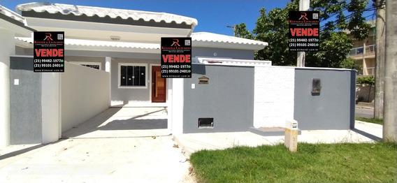 Casa Em Itaipuaçu Com 2 Quartos. Condução Na Porta - 525