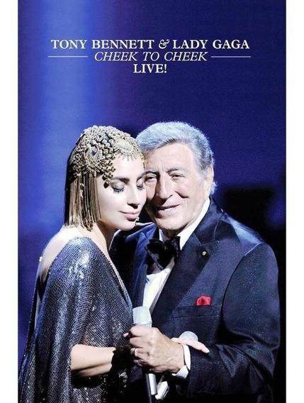 Dvd Tony Bennett & Lady Gaga Cheek To Cheek Live! + The Fame