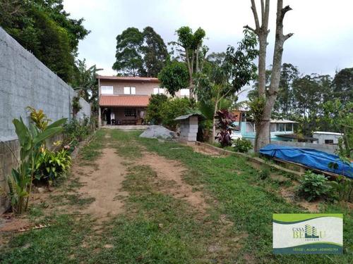 Chácara Com 3 Dormitórios À Venda, 700 M² Por R$ 400.000,00 - Jardim Das Colinas - Franco Da Rocha/sp - Ch0016