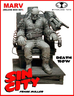 Sin City: Marv. Death Row. Mcfarlane Toys. 2000.
