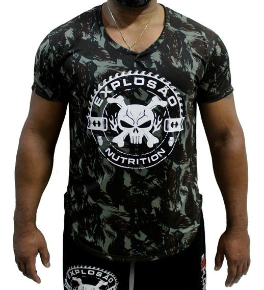 Camiseta Camisa Longline Academia Explosão - Varias Cores
