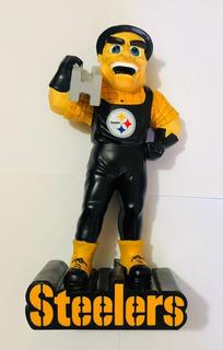 Figura Decorativa Nfl Steelers Pittsburgh Mide 30cm Alto