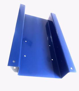 Base Metálica Azul Rectangular 70 Cm X 37 Cm Para Carga