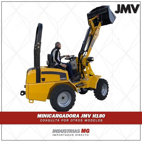Minicargadora Articulada Nueva Jmv H180 - Con Accesorios