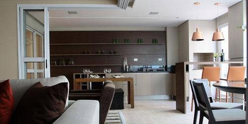 Apartamento Com 3 Suítes No Jardim Aquárius - Ap0473
