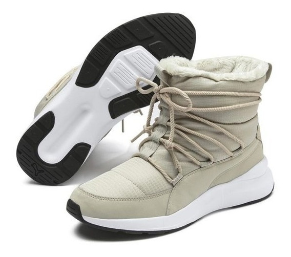 Sneakers Botas Puma Para Nieve Impermeables & Cálidas Mujer