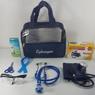 Kit Estágio Para Enfermagem Com Esteto E Esfigmo