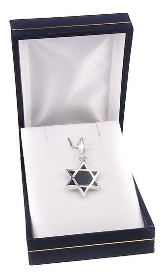 Colgante Estrella David Lapislázuli #0120