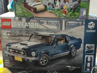 Lego 10265 Ford Mustang, 100% Nuevo Y Original