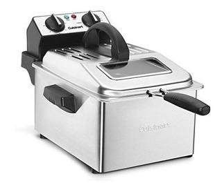 Cocinadora Cdf-200 Freidora, 4 Cuartos, Acero Inoxidable