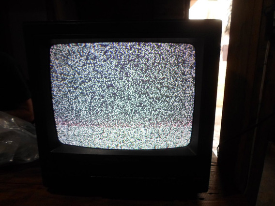 Tv Antiga Tudo Philco Hitachi 14 Polegadas Colorida Bivolt