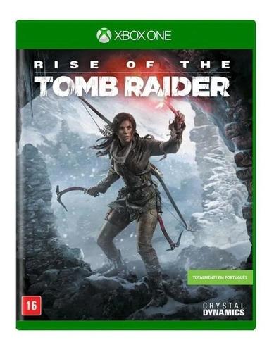 Rise Of The Tomb Raider Xbox One Mídia Física Novo Lacrado