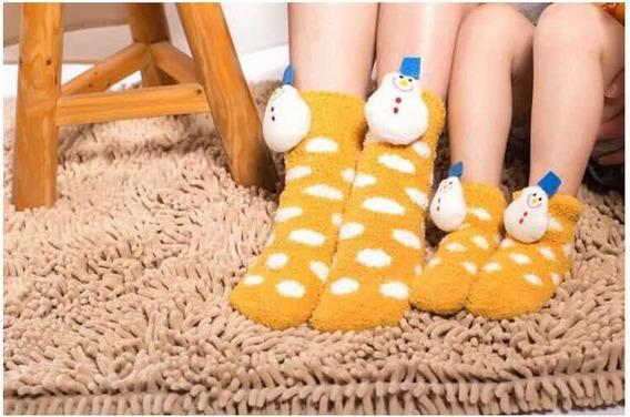 Calcetines Navideños, Pantuflas Navideñas, Niños 1-3 Años