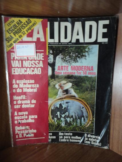 Revista Realidade Janeiro De 1972