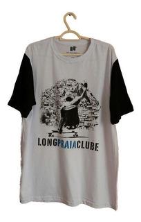 Camisa Slide Favela Longboard Skate Long Praia Clube Tam Gg