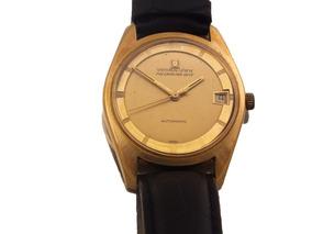 Relógio Universal Geneve Polerouter Date Ouro Rose J10853
