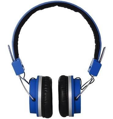 Headphone Quake Hb02 Blue Bomber