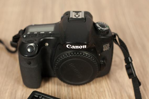 Câmera Canon Eos 60d (corpo)